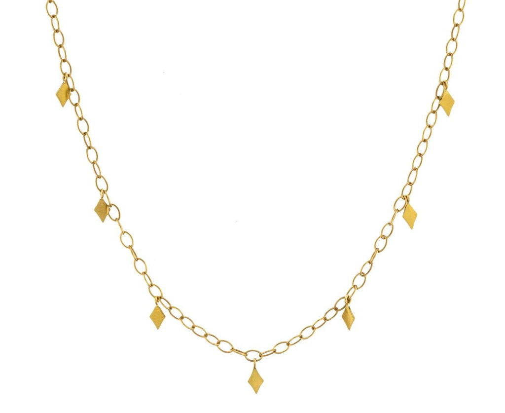 Diamond Shaped Fringe Chain zoom 1_cathy_waterman_gold_fringe_chain_necklace