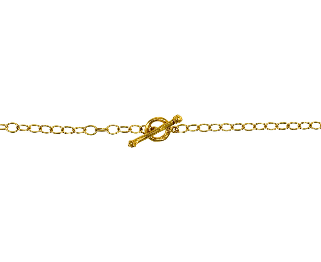 "18"" Gold Tiny Lacy Chain"