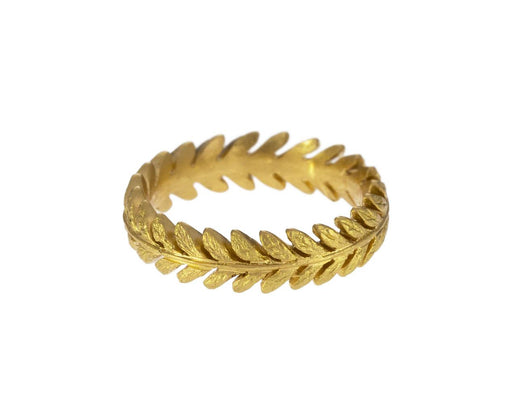 Gold Laurel Leaf Ring - TWISTonline