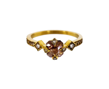 Rustic Diamond Antique Prong Solitaire - TWISTonline