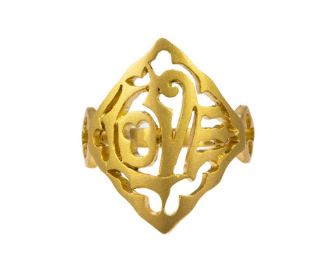 Gold Love Ring - TWISTonline