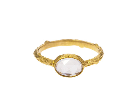 White Topaz Branch Ring - TWISTonline