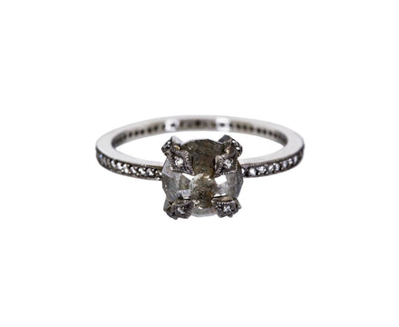 Rustic Diamond Four Prong Solitaire - TWISTonline