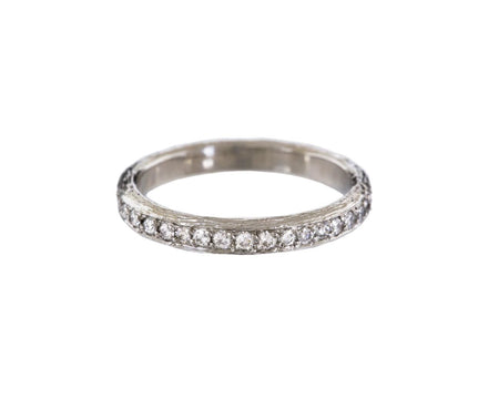 Platinum Diamond Pavé Branch Band - TWISTonline