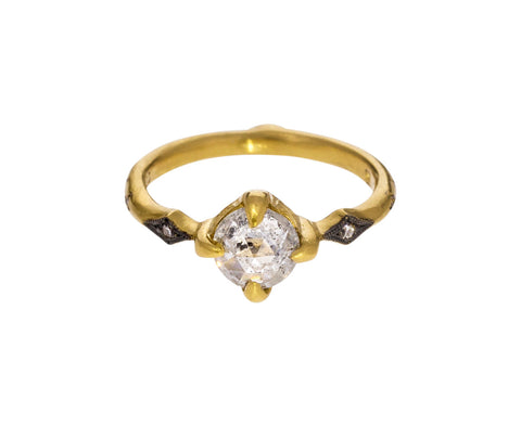 Rose Cut Diamond Solitaire - TWISTonline