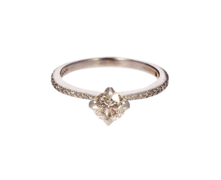 Apricot Diamond Solitaire - TWISTonline