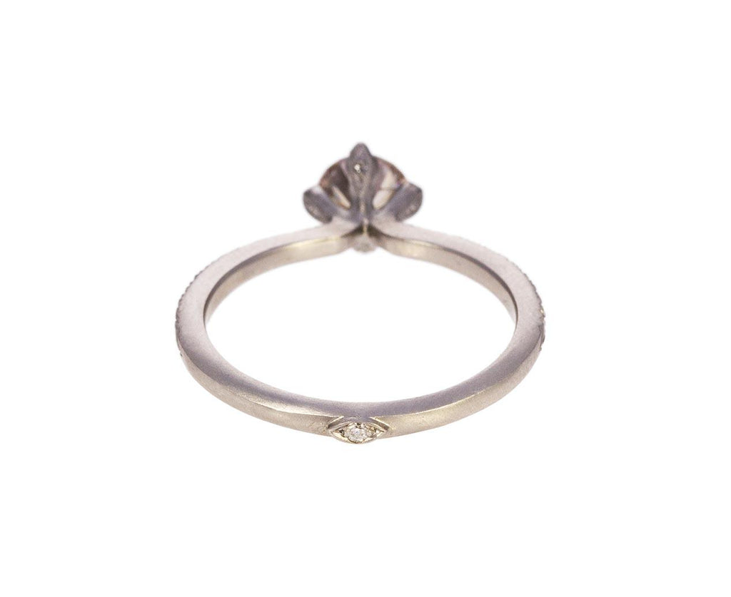 Apricot Diamond Solitaire zoom 3_cathy_waterman_platinum_apricot_diamond_ring