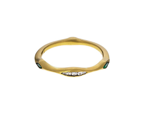 Diamond Emerald Triple Marquise Band zoom 1_cathy_waterman_gold_diamond_emerald_ring