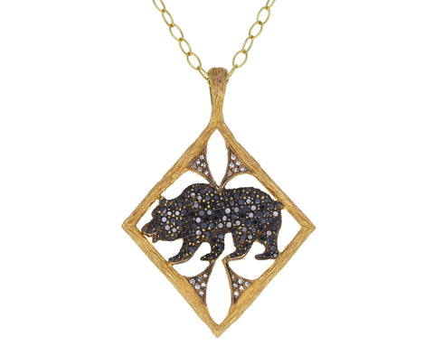 Black Diamond California Black Bear Pendant ONLY