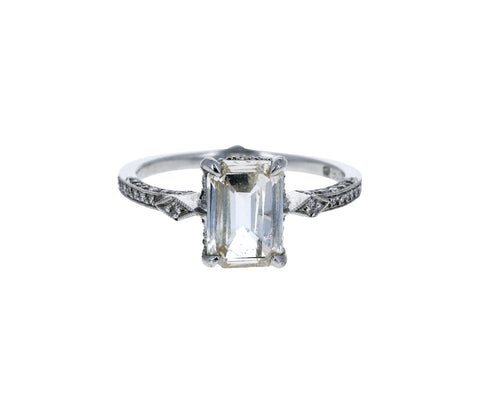 Champagne Diamond Solitaire Ring - TWISTonline
