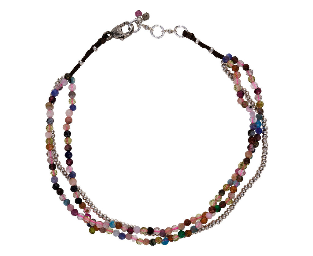 Multi-Gem Beaded Bracelet - TWISTonline