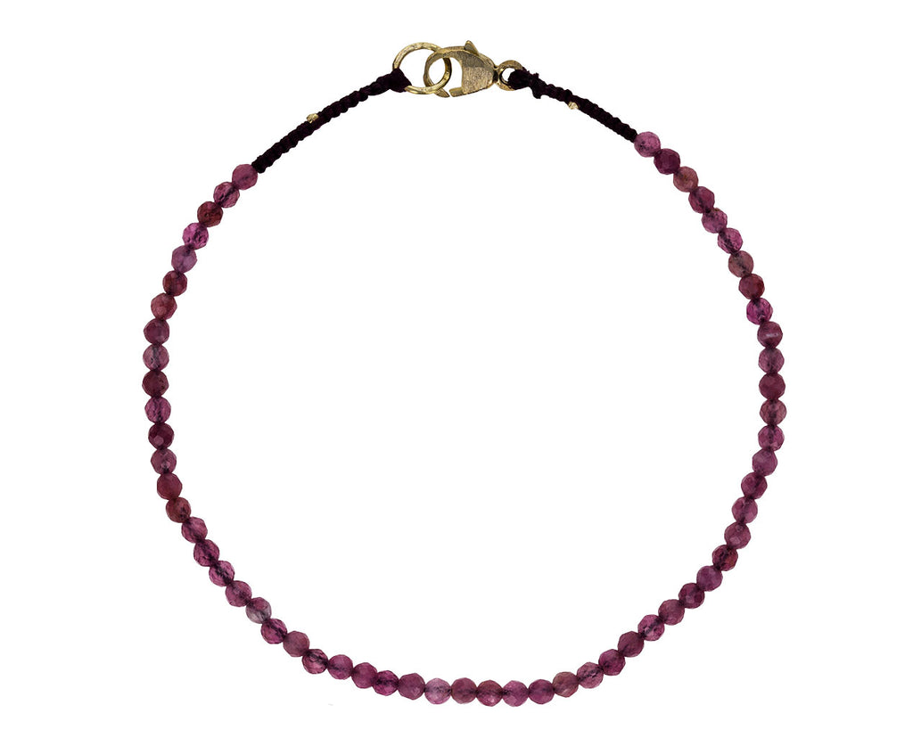 Pink Tourmaline Beaded Bracelet - TWISTonline