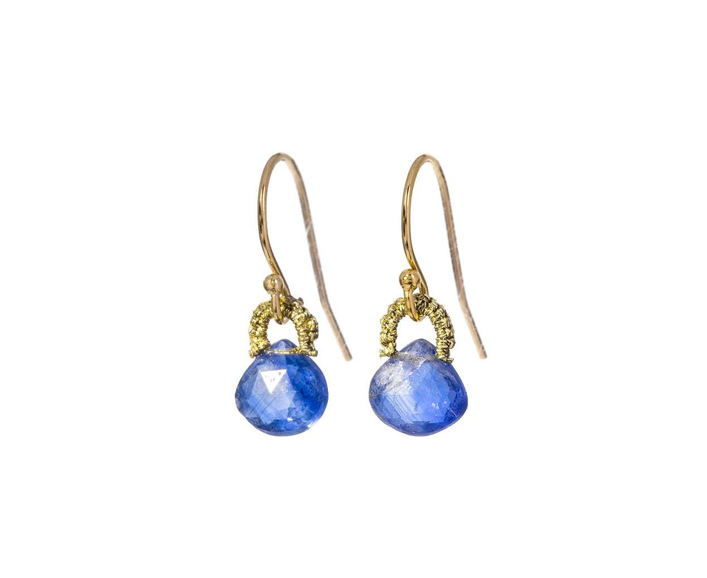 Baby Kyanite Drop Earrings - TWISTonline