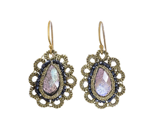 Labradorite Lace Earrings - TWISTonline