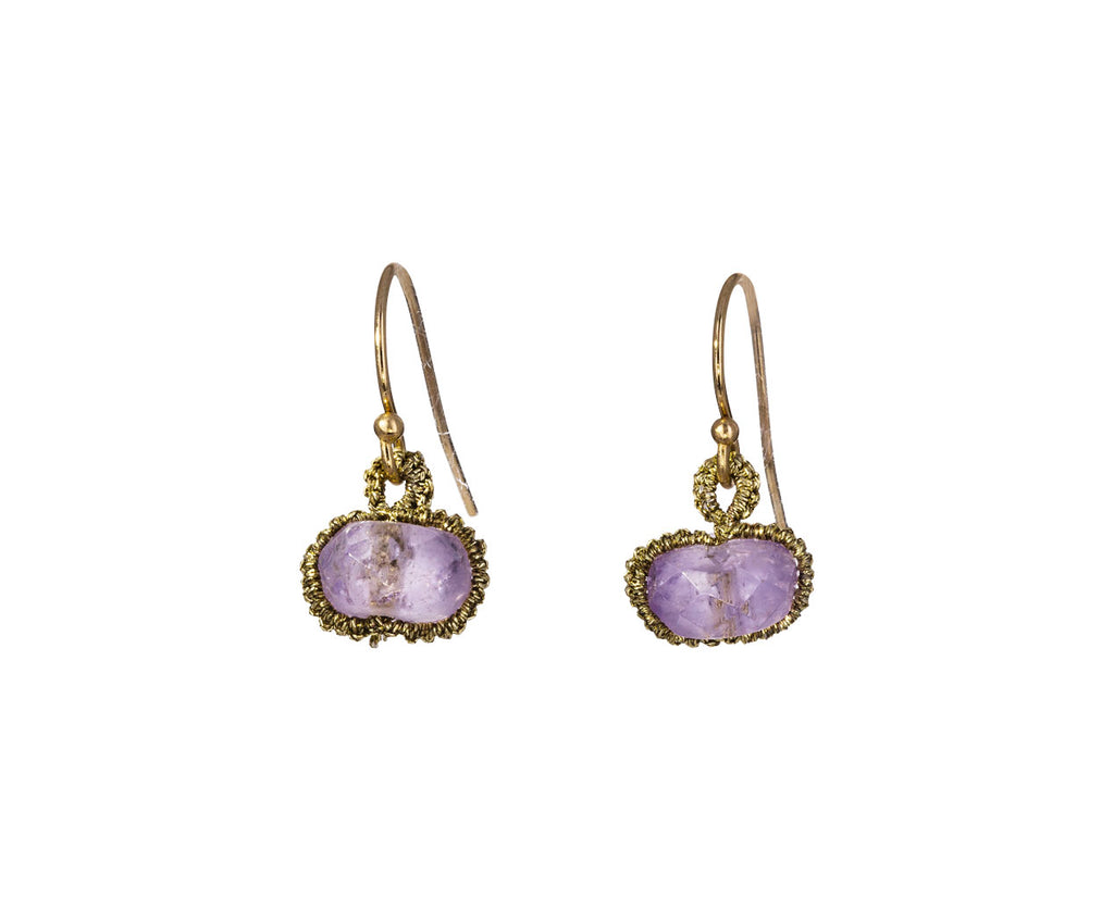 Pink Amethyst Sphere Earrings - TWISTonline
