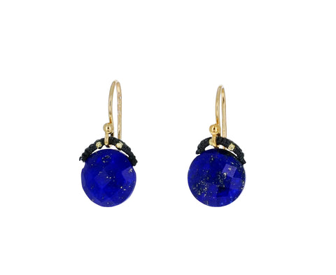 Lapis Coin Earrings - TWISTonline