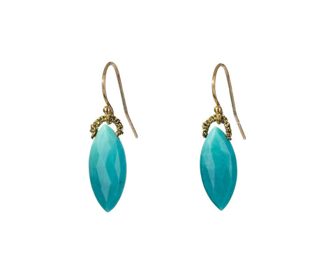 Sleeping Beauty Turquoise Drop Earrings - TWISTonline