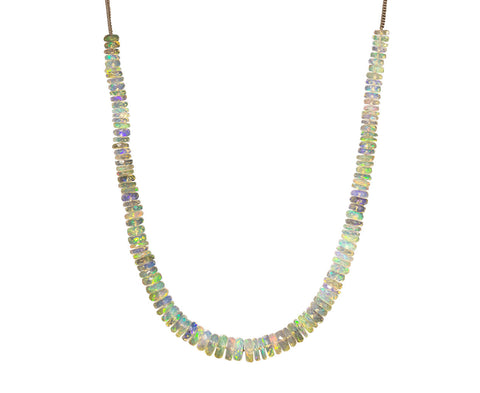 Beaded Opal Necklace