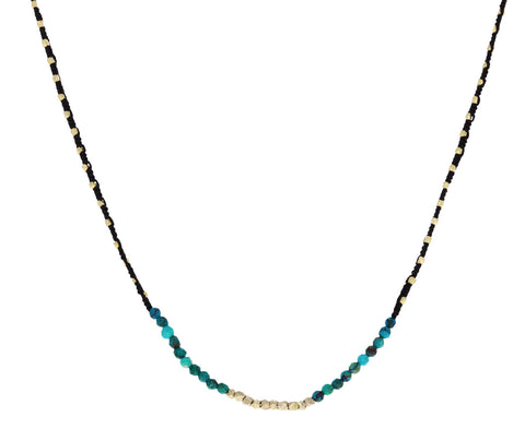 Chrysocolla Beaded Necklace