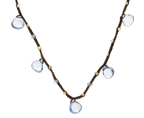 Blue Topaz Drop Necklace zoom 1_danielle_welmond_topaz_gold_vermeil_necklace