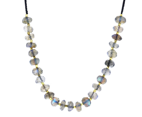 Beaded Labradorite Necklace - TWISTonline