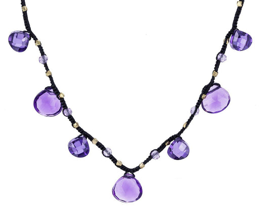 Amethyst Drop Beaded Necklace zoom 1_danielle_welmond_amethyst_drop_necklace