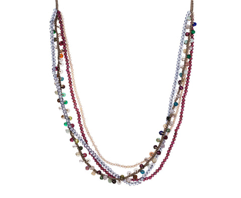 Multi-Gem Strand Necklace - TWISTonline