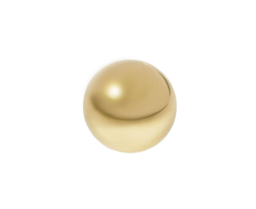 Large Gold Sphere SINGLE Earring zoom 1_kathleen_whitaker_gold_large_sphere_stud_earring