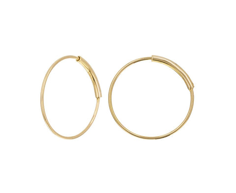Extra Small Gold Hoop Earrings - TWISTonline