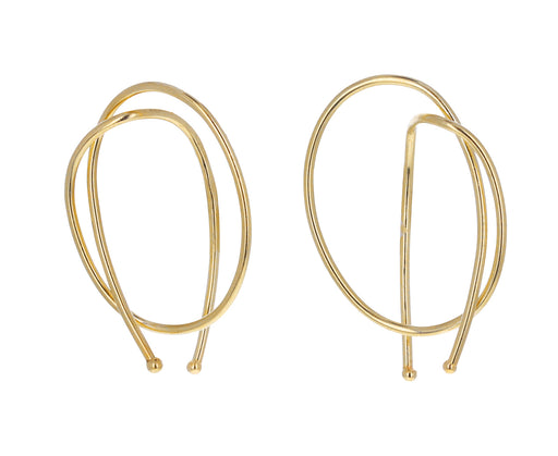 Gold Rope Earrings