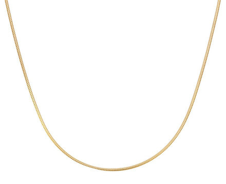 Thin Gold Snake Chain Necklace - TWISTonline
