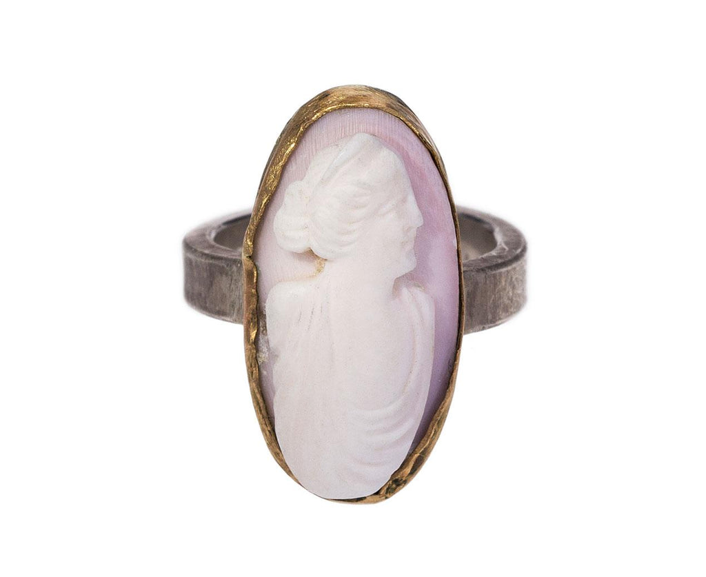 Vintage Cameo Ring zoom 1_julie_wolfe_silver_antique_cameo_ring1