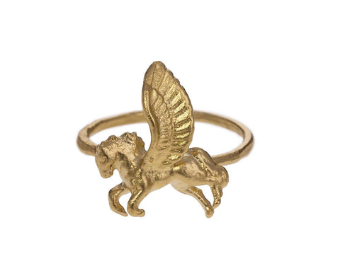 Gold Vermeil Pegasus Ring zoom 1_julie_wolfe_gold_pegasus_ring