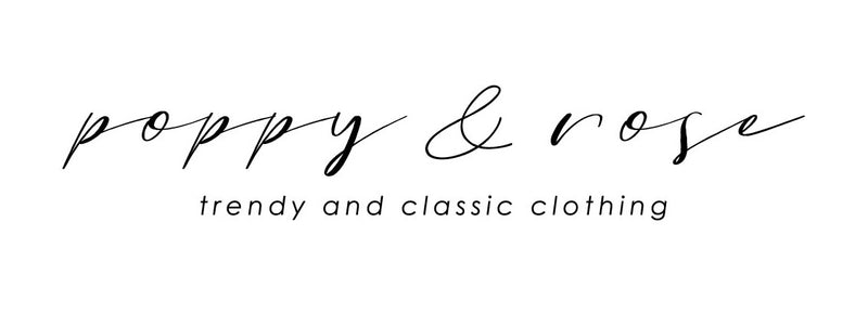 poppy & rose clothing