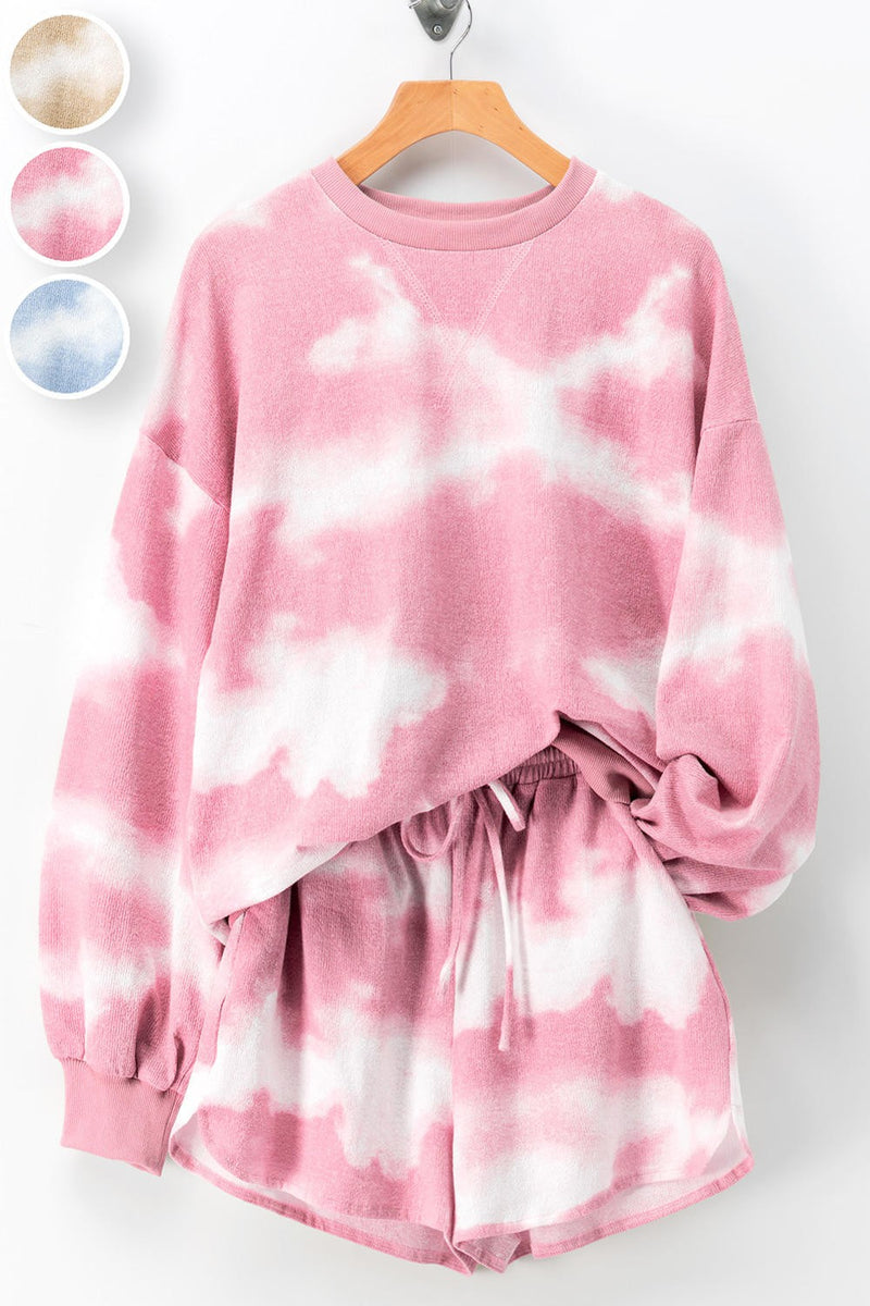 PREORDER tie dye set // pink - poppy & rose clothing