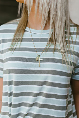 golden hour necklace - poppy & rose clothing