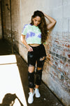 sydney tee // mint - poppy & rose clothing