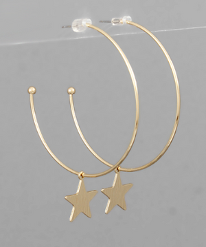 open hoops // star