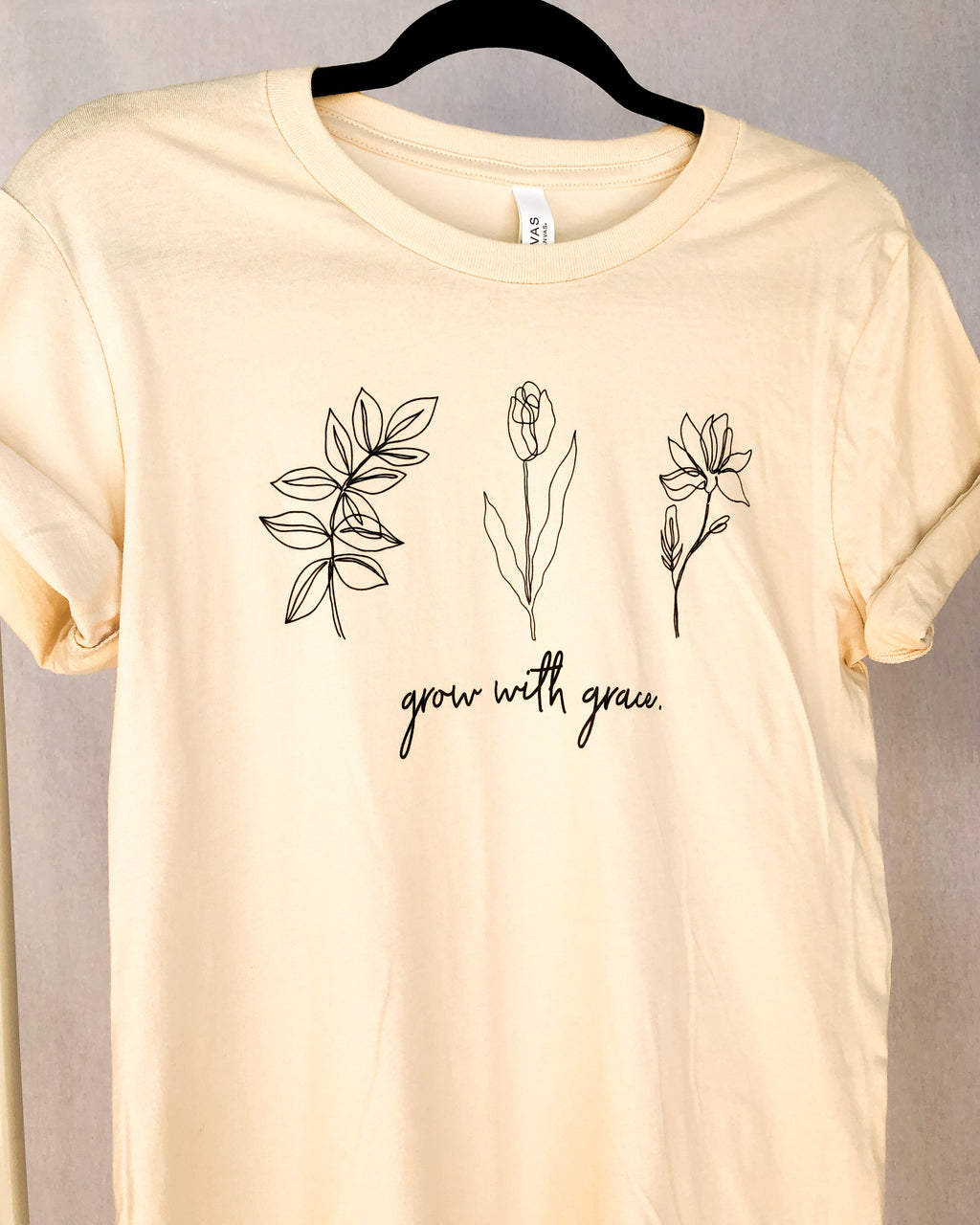 grow with grace tee - poppy & rose clothing