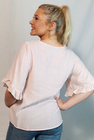 lucy button top
