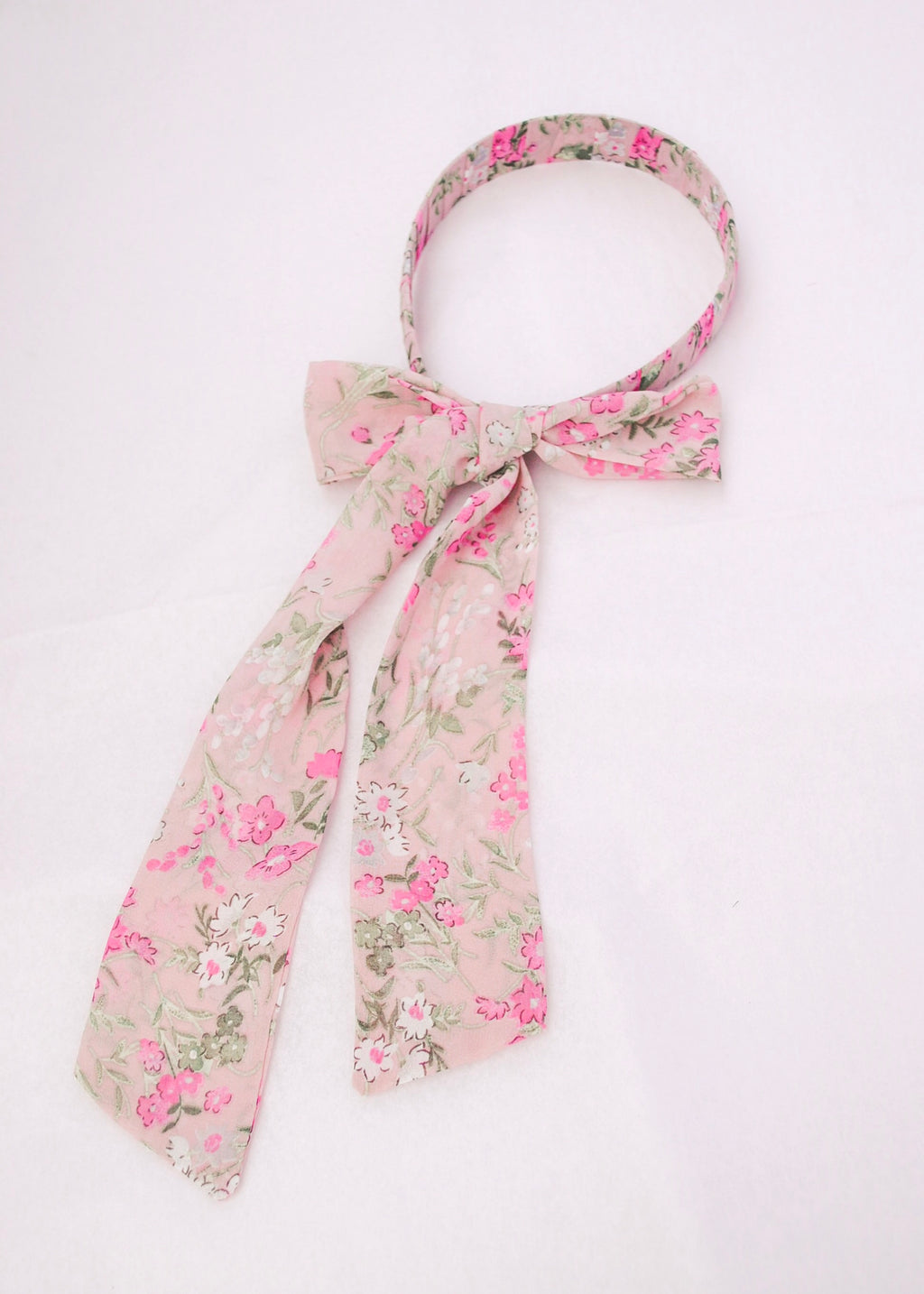 floral headband - poppy & rose clothing