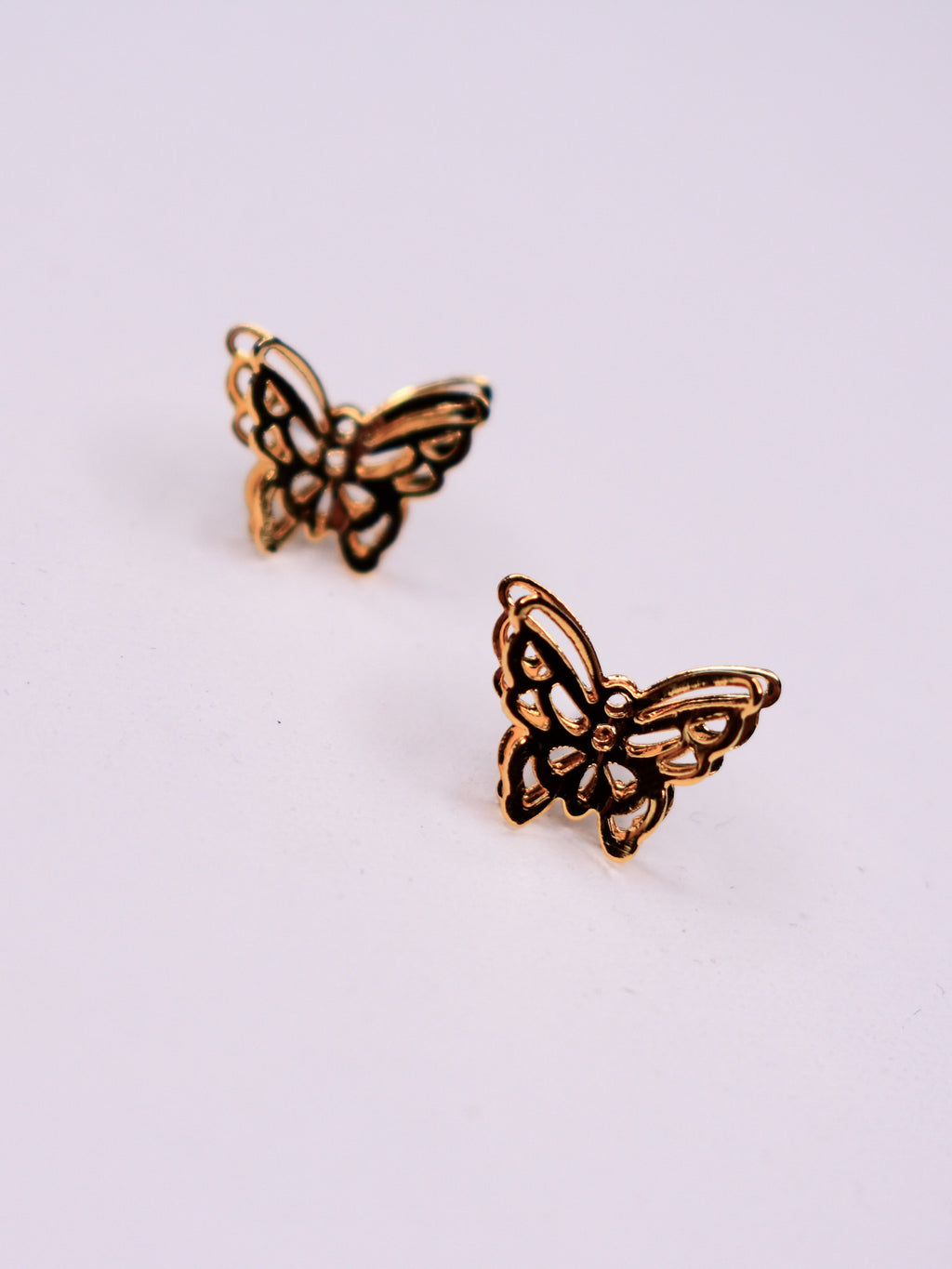 butterfly studs - poppy & rose clothing