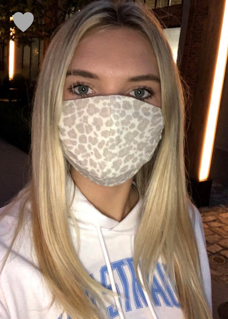 reusable face mask PREORDER - poppy & rose clothing