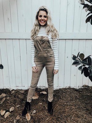 corduroy overalls - poppy & rose clothing