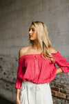 willow top - poppy & rose clothing