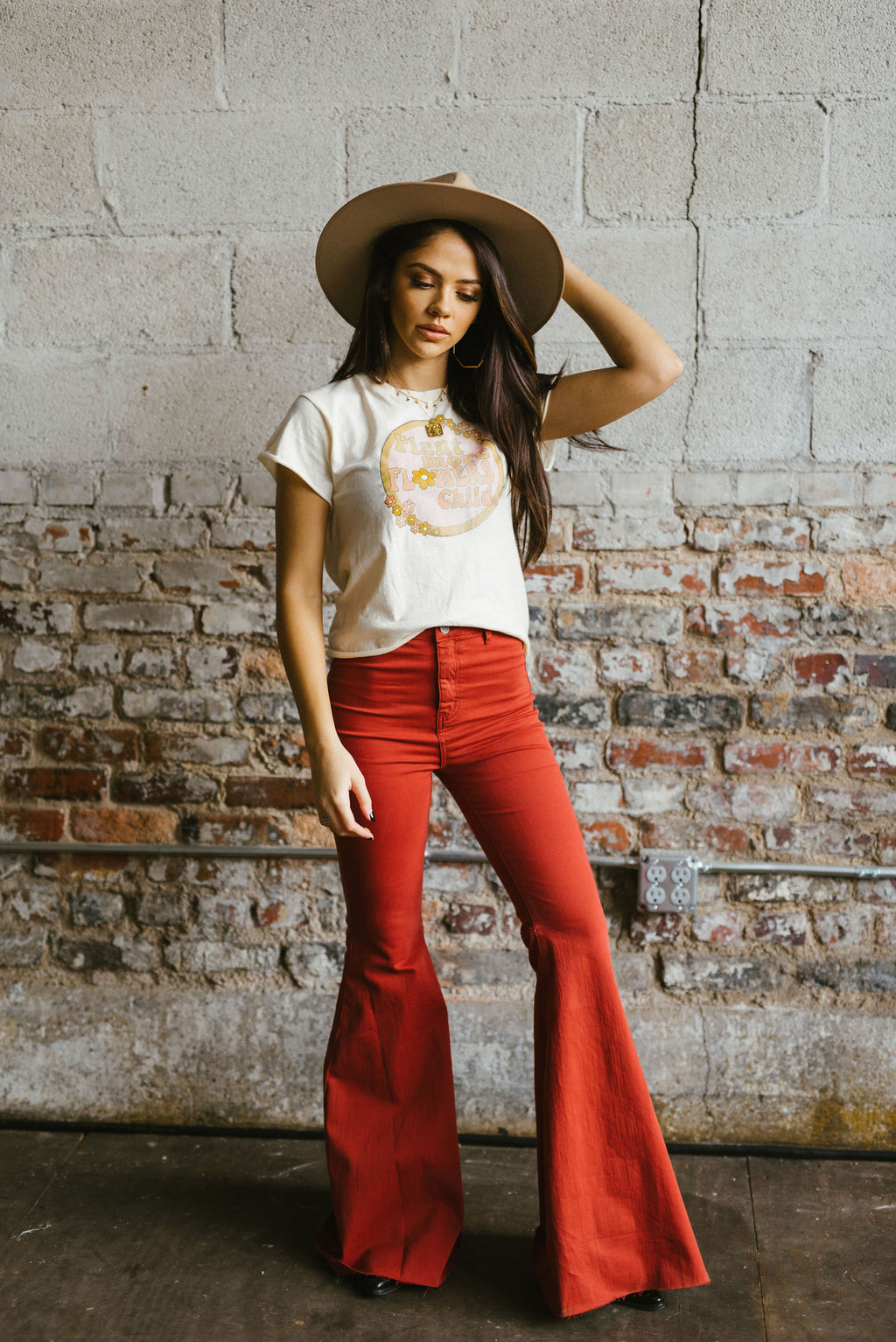 poppy flares - poppy & rose clothing