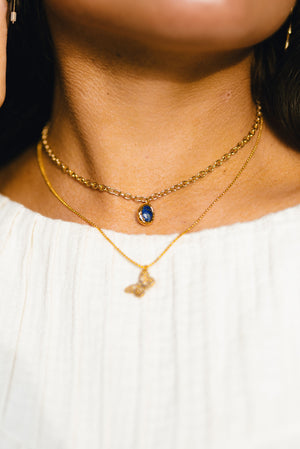 you're so rare necklace - poppy & rose clothing