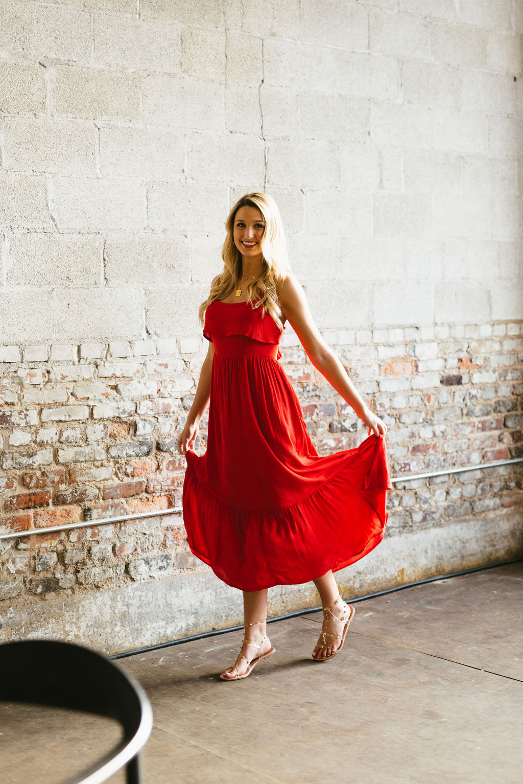marley maxi // red - poppy & rose clothing