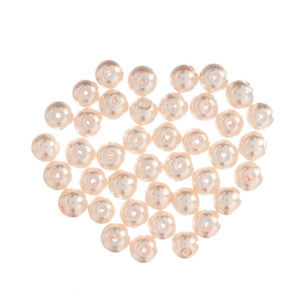 Extra Value Glass Pearls 8mm Pink: Packs of 40