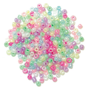 Extra Value Seed Beads: Pastel Multi: Packs of 30g